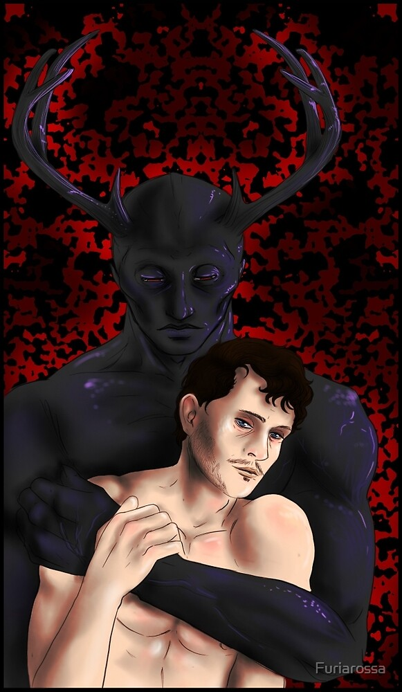 Hannibal -  In the arms of the Wendigo by Furiarossa