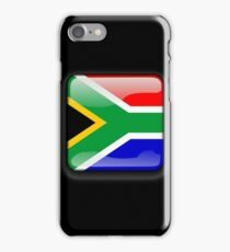 South African Flag, South Africa Icon iPhone Case/Skin
