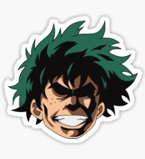 Mein Hero Academia Deku isst dies Sticker