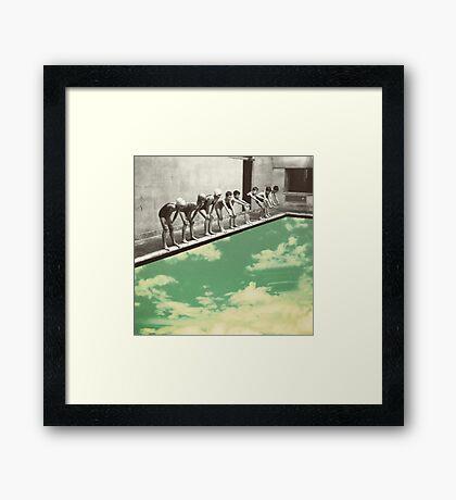 """""""Skydiving"""" Framed Print"""