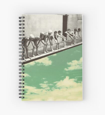 """Skydiving"" Spiral Notebook"