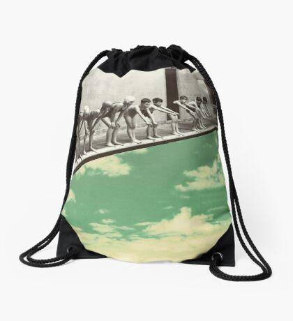 """Skydiving"" Drawstring Bag"