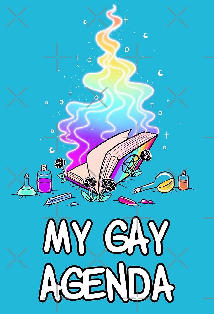 My Gay Agenda by evocaitart