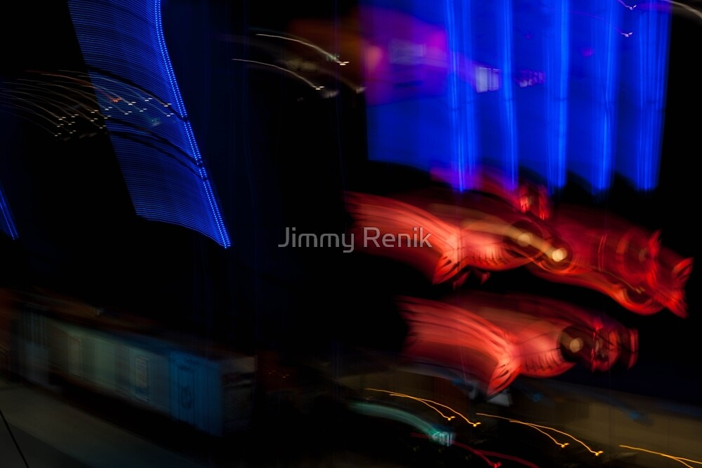 Skyfish chase by Jimmy Renik