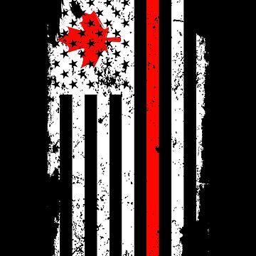 USA Canada by GeschenkIdee