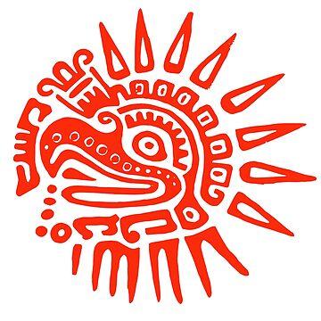 Ruler for 20 Days - RED - Hueitetollin, Veracruz  by TheWhiteBear