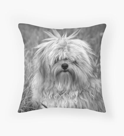 Who Me? Throw Pillow