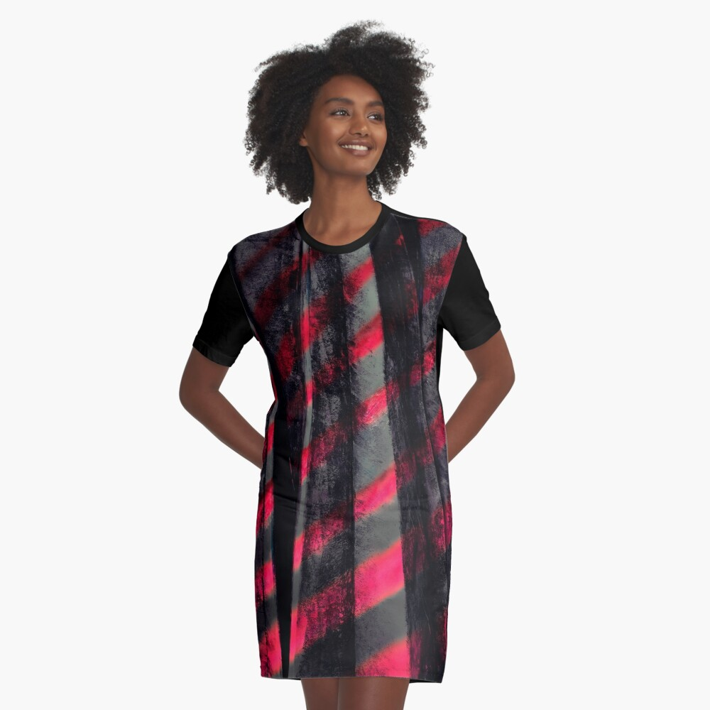 Zebra T-Shirt Kleid