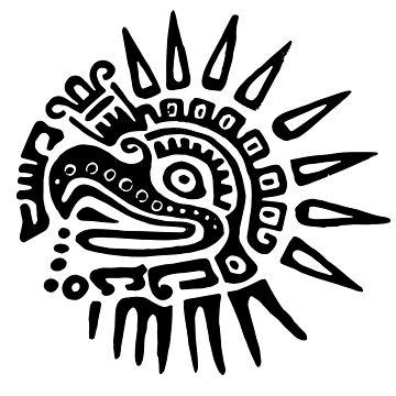 Ruler for 20 Days - BLACK - Hueitetollin, Veracruz  by TheWhiteBear