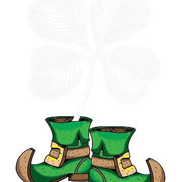 Leprechaun shoes & Shamrock by CasualMood