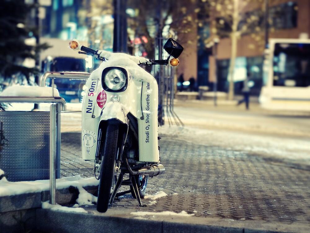 gone by bike by Felix Meyer