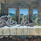 Serpents Last Supper by SnakeArtist