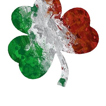 Irland Flag Shamrock by CasualMood