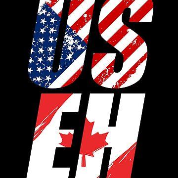 Canada USA by GeschenkIdee