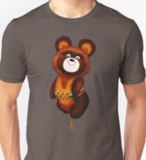 Mischa-Bär - Olympische Spiele 1980 in Moskau Slim Fit T-Shirt