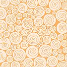 Waiting For Spring Bright Orange Pattern by plantita