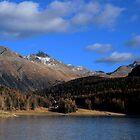 Lake St. Moritz by annalisa bianchetti