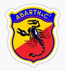 Classic Car Logos: Abarth & C. Sticker