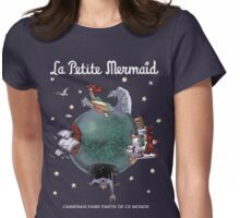 La Petite Mermaid (version2) Womens Fitted T-Shirt