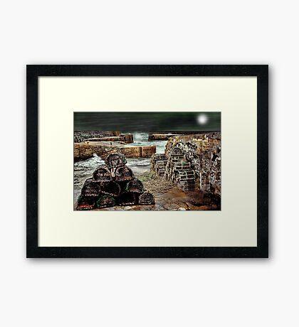 Charlestown Harbour Framed Print
