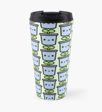 Cute sprout in pot Travel Mug