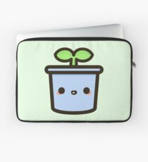 Cute sprout in pot Laptop Sleeve