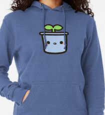 Cute sprout in pot Lightweight Hoodie