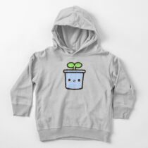 Cute sprout in pot Toddler Pullover Hoodie