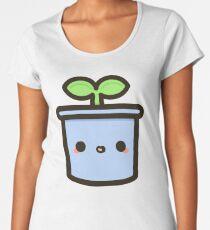 Netter Sprössling im Topf Frauen Premium T-Shirts