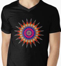 'Fusion' Mens V-Neck T-Shirt