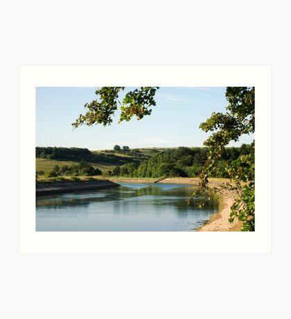 River Ouse Piddinghoe Art Print