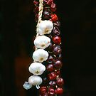 Garlic and Hot Pepper hanging for sale by ofer2000
