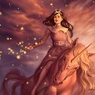 Star bringer by Alexandra Curte