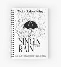Singin 'im Regenfilm Poster Spiralblock
