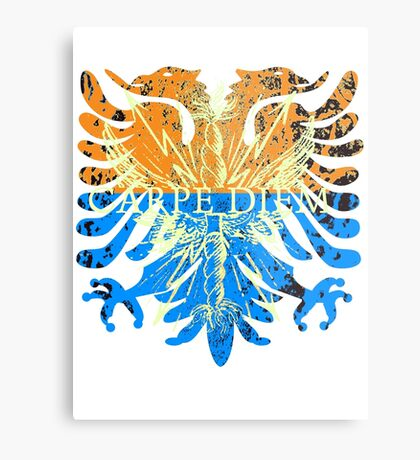 Carpe Diem Mythical Griffin Metal Print