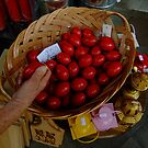 Easter eggs at the Athens market by Themis