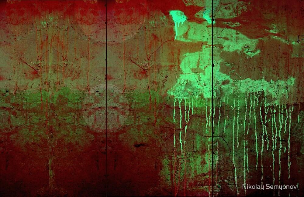 variations of school wall by Nikolay Semyonov