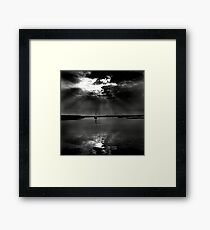 Summer evening light at Brancaster Staithe, Norfolk, UK Framed Print