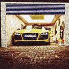 Audi R8 Spyder von coolArtGermany