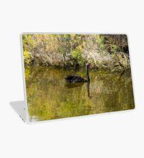 Black Swan Reflection Laptop Skin