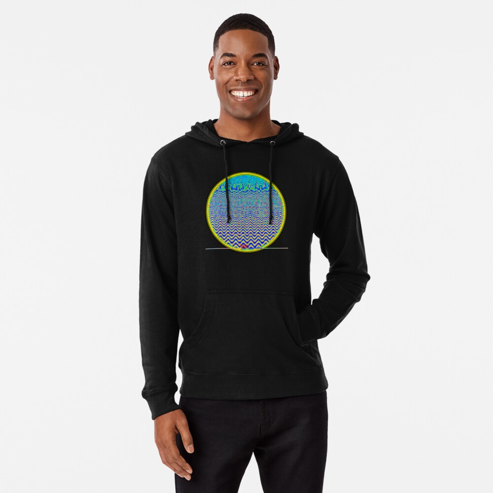 Optical ③ by RootCat Lightweight Hoodie