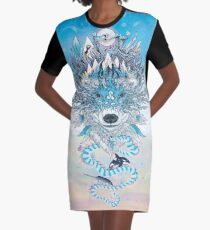 Ursa Graphic T-Shirt Dress