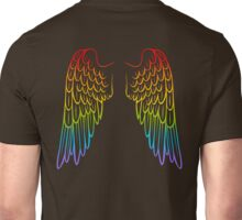 Rainbow Wings Unisex T-Shirt