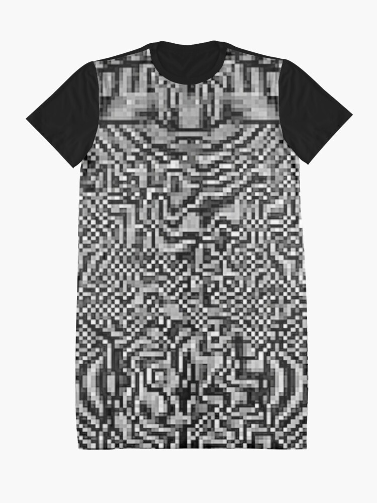 Alternate view of Optic ^ l ⑩ by RootCat Graphic T-Shirt Dress