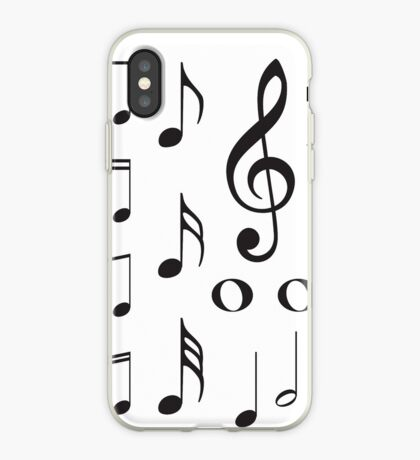 Musiknoten iPhone-Hülle & Cover
