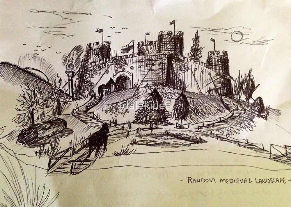 Castle landscape  by dalekidea