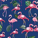 Flamingos Love Pattern 8 by B & K     Store