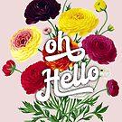 oh hello, pretty florals by ShowMeMars