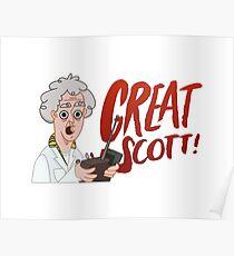 GREAT SCOTT! Poster