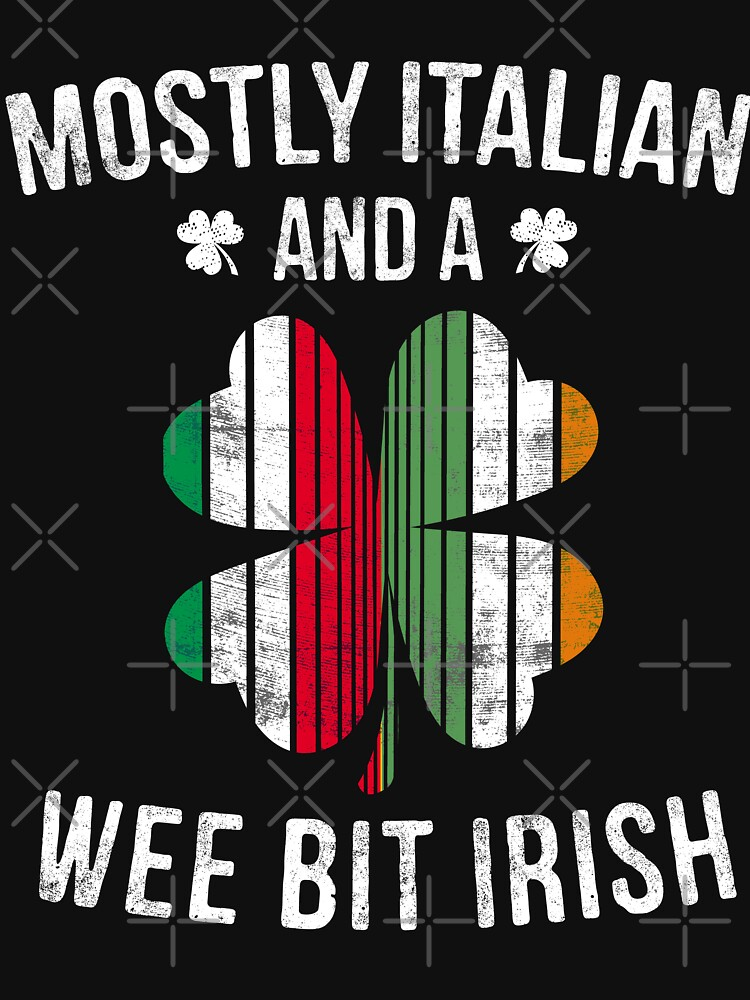Italian Wee Bit Irish - Italy Patrick Day Gifts by EcoKeeps